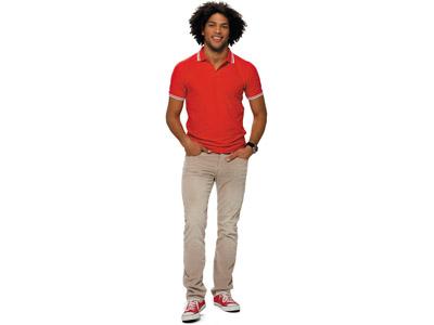 Рубашка поло «Erie» мужская, красный ( M )