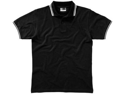 Рубашка поло «Erie» мужская, черный ( M )