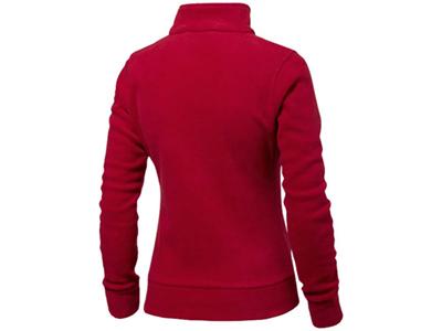 """Куртка флисовая """"Nashville"""" женская, красный/пепельно-серый ( 2XL ), арт. 000196303"""