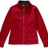 """Куртка флисовая """"Nashville"""" женская, красный/пепельно-серый ( S ), арт. 000192903"""