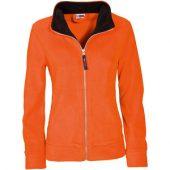 """Куртка флисовая """"Nashville"""" женская, оранжевый/черный ( XL )"""