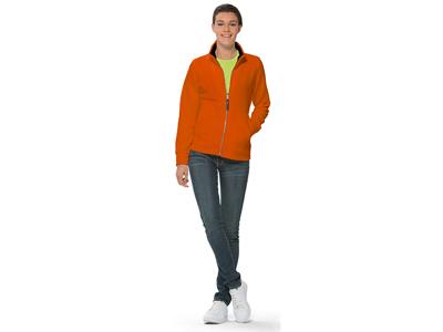 """Куртка флисовая """"Nashville"""" женская, оранжевый/черный ( M ), арт. 003048703"""