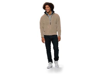 Куртка флисовая «Nashville» мужская, хаки ( S )