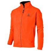 Куртка флисовая «Nashville» мужская, оранжевый/черный ( M )