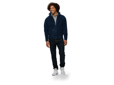 Куртка флисовая «Nashville» мужская, темно-синий ( L )