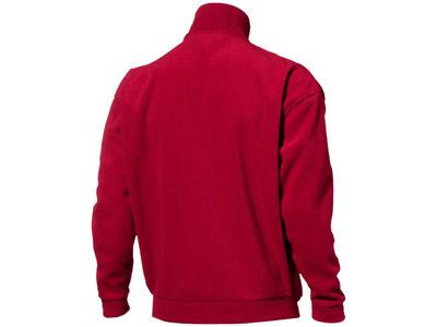 Куртка флисовая «Nashville» мужская, красный/пепельно-серый ( M )
