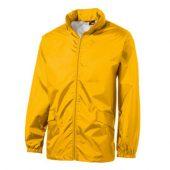 Ветровка «Miami» мужская с чехлом, золотисто-желтый ( 2XL )