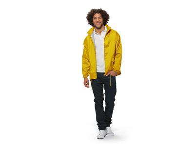 """Ветровка """"Miami"""" мужская с чехлом, золотисто-желтый ( 2XL )"""