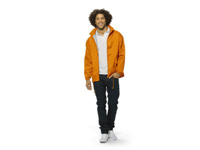 Ветровка «Miami» мужская с чехлом, оранжевый ( M )