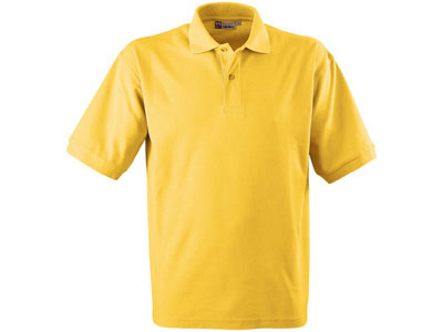 Рубашка поло «Boston» мужская, желтый ( S )