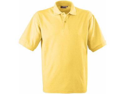 Рубашка поло «Boston» мужская, светло-желтый ( S )