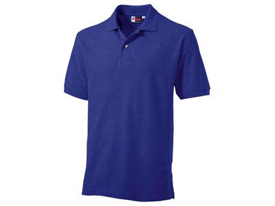 Рубашка поло «Boston» мужская, фиолетовый ( 2XL )