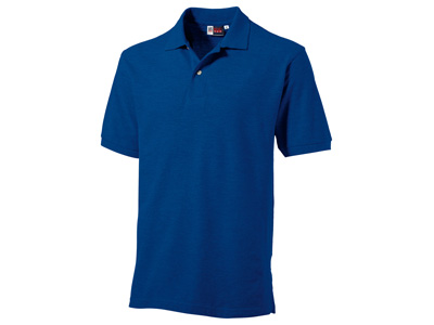 Рубашка поло «Boston» мужская, классический синий ( 2XL )