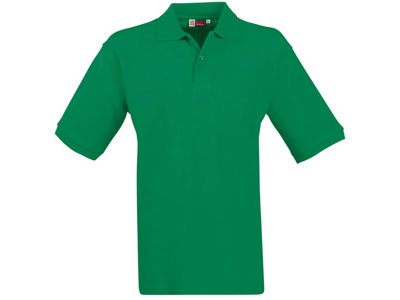 "Рубашка поло ""Boston"" мужская, зеленый ( S )"