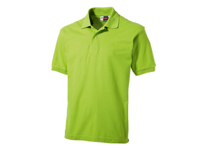 Рубашка поло «Boston» мужская, зеленое яблоко ( XL )