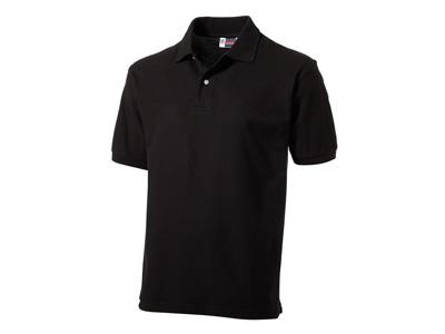 Рубашка поло «Boston» мужская, черный ( 2XL )