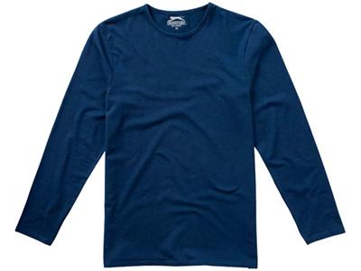 Футболка мужская с длинным рукавом, темно-синий ( L )
