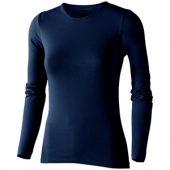 Футболка женская с длинным рукавом, темно-синий ( M ), арт. 000968203