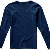 Футболка женская с длинным рукавом, темно-синий ( L ), арт. 000968303