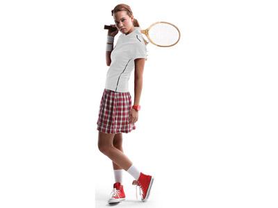 Рубашка поло «Backhand» женская, белый/темно-синий ( XL )