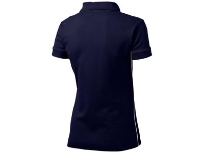 Рубашка поло «Backhand» женская, темно-синий/белый ( 2XL )