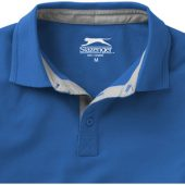 "Рубашка поло ""Hacker"" мужская, небесно-синий/серый ( S ), арт. 001330503"