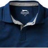 "Рубашка поло ""Hacker"" мужская, темно-синий/серый ( 3XL ), арт. 001329203"