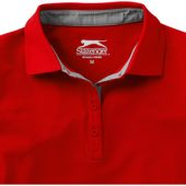 """Рубашка поло """"Hacker"""" женская, красный/серый ( XL )"""