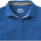 """Рубашка поло """"Hacker"""" женская, небесно-синий/серый ( L ), арт. 001334003"""