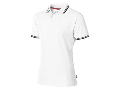 """Рубашка поло """"Deuce"""" мужская, белый ( L )"""