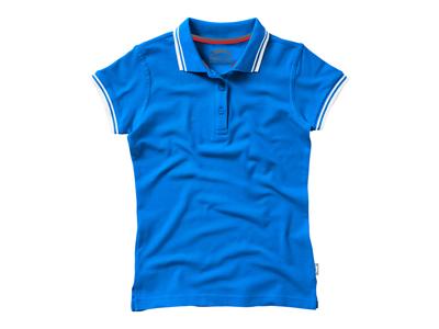 """Рубашка поло """"Deuce"""" женская, небесно-голубой ( S ), арт. 001709003"""