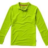 """Рубашка поло """"Point"""" мужская с длинным рукавом, зеленое яблоко ( 2XL ), арт. 001712603"""