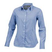 """Рубашка """"Net"""" женская с длинным рукавом, синий ( XL )"""