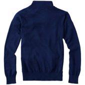 """Пуловер """"Set"""" с застежкой на четверть длины, т.синий/серый ( 2XL )"""