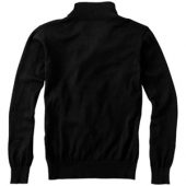 """Пуловер """"Set"""" с застежкой на четверть длины, черный/серый ( XL ), арт. 000507903"""
