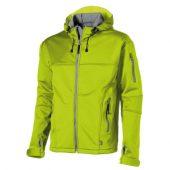 Куртка софтшел «Match» мужская, св.зеленый/серый ( 3XL )
