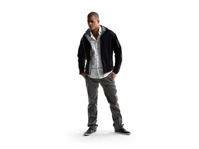Куртка софтшел «Match» мужская, черный/серый ( 3XL )
