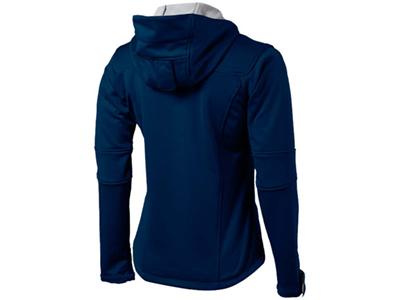 Куртка софтшел «Match» женская, темно-синий/серый ( 2XL )