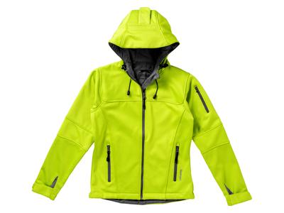 """Куртка софтшел """"Match"""" женская, св.зеленый/серый ( 2XL ), арт. 001438803"""