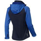 """Куртка софтшел """"Сhallenger"""" женская, темно-синий/небесно-голубой ( L )"""
