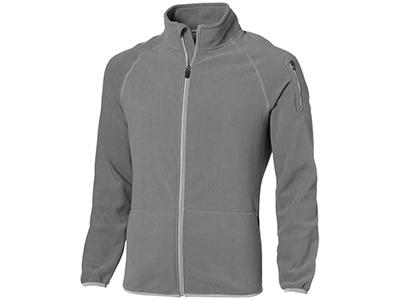 Куртка «Drop Shot» из микрофлиса мужская, серый ( 2XL )