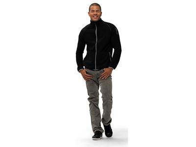 Куртка «Drop Shot» из микрофлиса мужская, черный ( 3XL )