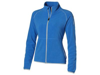 Куртка «Drop Shot» из микрофлиса женская, небесно-голубой ( 2XL )