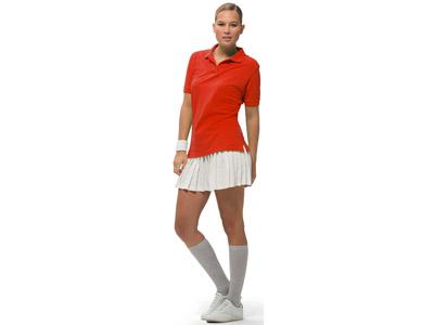 """Рубашка поло """"Forehand"""" женская, темно-красный ( M ), арт. 000199803"""