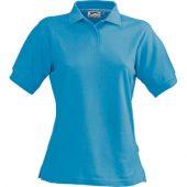 Рубашка поло «Forehand» женская, аква ( M )