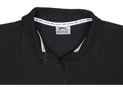 """Рубашка поло """"Forehand"""" женская, черный ( XL ), арт. 000200703"""