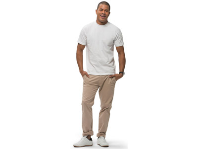 Футболка «Ace» мужская, белый ( XL )
