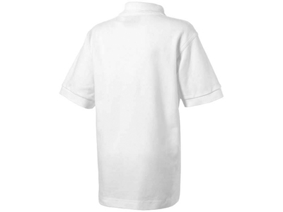 Рубашка поло «Forehand» детская, белый ( 4 )