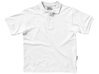 Рубашка поло «Forehand» детская, белый ( 8 )