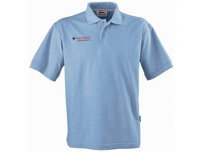 Рубашка поло «Forehand» детская, голубой ( 10 )